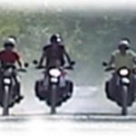 poi un giro in moto con gli amici!
